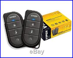 1-Way Remote Start System Car Alarm Security Key less Entry Starter By Viper NEW