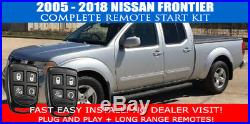 2005-2018 Nissan Frontier Remote Start Car Starter Plug And Play Fast Install