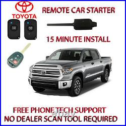 2011-2015 Toyota Tundra Remote Car Starter -1 Wire To Splice For Light Flash