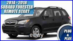 2014 2018 Subaru Forester Remote Start Plug And Play Car Starter