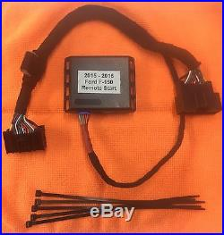 2015 2016 Ford F150 F-150 Plug And Play Remote Car Starter Fast Install