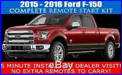 2015 2016 Ford F150 F-150 Remote Start Car Starter Plug And Play Fast Install