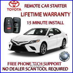 2018 2019 Toyota Camry Remote Start Plug And Play Car Starter