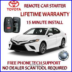 2018 2019 Toyota Camry Remote Start Plug And Play Car Starter Phone App