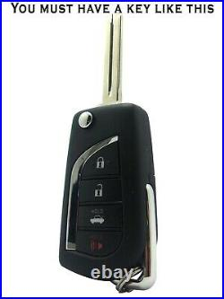 2020 Toyota Corolla Remote Car Starter -no Wire Splicing Regular Key Only