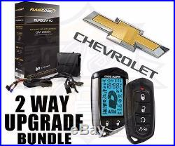 2 Way Pager Remote Start Plug And Play Car Starter 2006-2013 Most Gm Vehicles