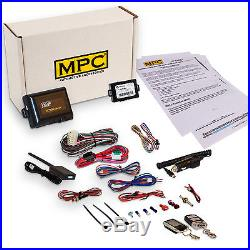 2-Way Remote Car Starter Kit with LCD Remote & Keyless Bypass for Cadillac