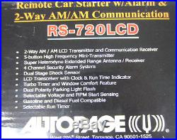 Autopage RS-720LCD Remote Car Starter Alarm & 2-Way AM/AM Communication Receiver