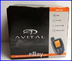 Avital 5305L 2-Way Remote Auto Car Start Starter & Alarm Security Replaced 5303