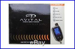 Avital 5305L 2-Way Remote Auto Car Start Starter & Alarm Security System Replac