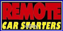 BRAND NEW REMOTE CAR STARTERS 30x15 ELECTRIC NEO-LITE LIGHTBOX SIGN NEO1530