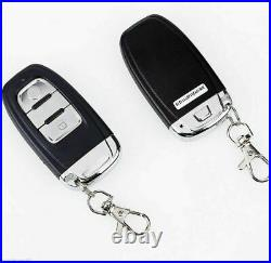 Car Alarm Passive Keyless Entry With Push Button Start Remote Engine Starter
