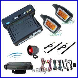 Car Alarm Remote Replacement Automatic Remote Car Starter Kit Mute Arming Mode