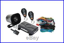 Car Alarm System 1 Way Keyless Entry Security Remote Starter GPS Tracking Loud