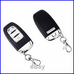 Car Alarm System Keyless Entry & Engine Ignition Push Starter Button Kit Useful