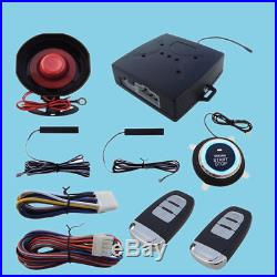 Car Alarm System Keyless Entry & Engine Ignition Push Starter Button Perfect Use