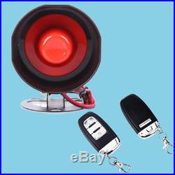 Car Alarm System Keyless Entry & Engine Ignition Push Starter Button Well Made