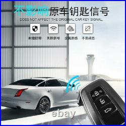 Car Alarm System Keyless Entry Engine One-Button Remote Starter Push Button Kit