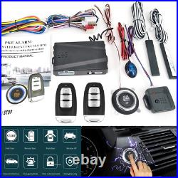 Car Engine Ignition Start Push Button Remote Control Keyless Entry Starter Kit