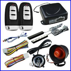 Car Engine Push Button Remote Control Keyless Entry Starter Anti-Theft System