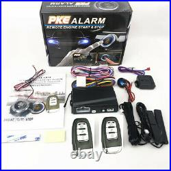 Car Engine Start Stop Security PKE Alarm System One-button Push Remote Starter