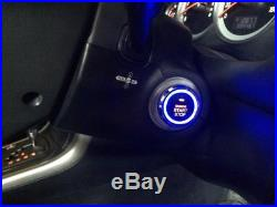 Car Passive Keyless Entry PKE System with Remote Engine Starter & Push Button