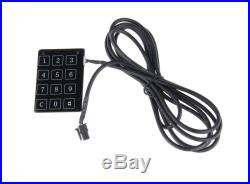 Car alarm kit with bypass module remote engine starter fit for cars with chips