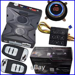 Car remote starter installation with keyless entry central lock unlock feature