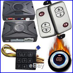 Car smart key remote keyless entry system for cars long distance remote starter