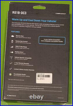 Compustar All-in-one System Car Remote Starter 1500-ft Range Rs1b-dc3