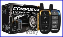 Compustar CS4102-S 2 Way LED Remote pager Car Start Starter System