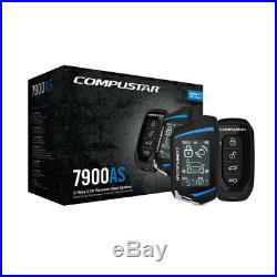 Compustar CS7900-AS 2-Way 3000-Ft Remote Car Start + Alarm System Security syst