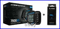 Compustar CS8900-AS-BL 2 Way LCD 1 Mile Range Remote Car Starter & Security Syst