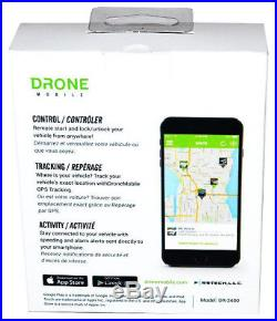 Compustar DR3400 Smartphone Cell Phone Remote Car Starter Drone Mobile