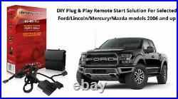 DIY Remote Car Starter Package Easy Install 2008 2019 Ford F150