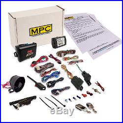 Deluxe 2-Way Remote Starter & Car Alarm with Keyless Bypass for Honda/Acura