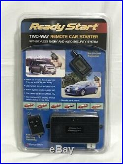 Design Tech Ready Start 490599 Two Way Remote Car Starter Security Keyless Entry