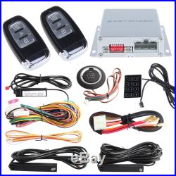 EASYGUARD PKE car alarm system passive keyless entry with remote engine starter