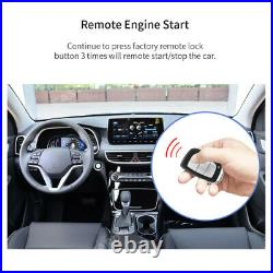 EASYGUARD Plug & Play Remote Starter fit for Push to Start Elantra 12-16 Gas car