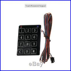 Easyguard pke auto car alarm keyless entry remote engine starter password entry