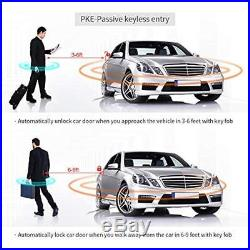 Electronics Features EC002-V-NS PKE Car Alarm System With Remote Start Starter