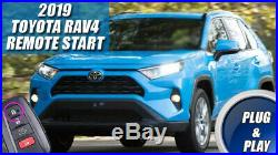 Fits 2019 TOYOTA RAV4 REMOTE START PLUG AND PLAY CAR STARTER