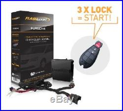 Flashlogic FLRSCH4 Plug & Play Remote Car Starter System Dodge Jeep Ram Chrysler