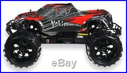 HSP 1/8th Scale Off Road Nitro Monster RC Truck Remote Control Car Black/Red