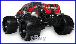 HSP 1/8th Scale Off Road Nitro RC Truck Remote Control Car Black/Red
