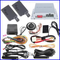 Hopping Code PKE Car Alarm System Bypass module Remote Engine Starter universal