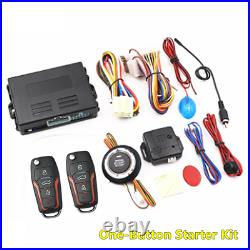 Keyless Entry Remote Push Button Car Engine Starter Lock Ignition Alarm Systems