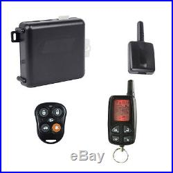 Megalarm MEGA2000 2-Way LCD Vehicle Remote Start Car Starter With Keyless Entry