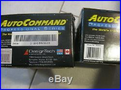 NEW LOT of 3 AutoCommand Professional Remote Car Starter Kit Alarm Control 28836