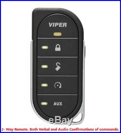 NEW Viper 4806V 2 Way LED Car Remote Starter With Keyless 1 Mile Range FREE Bypass